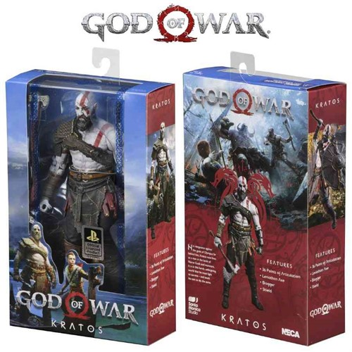 Kratos (2018) - God Of War - Original NECA